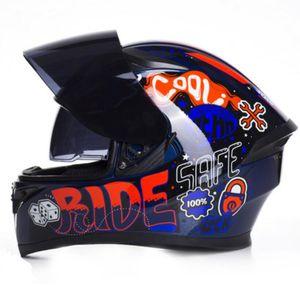 Jiekai Открытый гоночный езда Оборудование внедорожного мотоцикла Мотоциклетный шлем