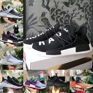 2020 Nouvelle NMD Human Race Infinie Espèce BBC Chaussures de course pas cher Hu Pharrell Williams solaire pack Oreo Know Soul Men Sneakers Baskets femme