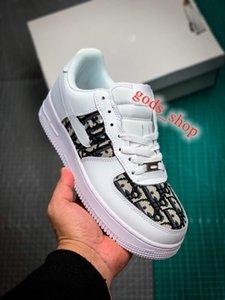 DIOR NIKE Air Jordan 1 AJ1 shoes  xshfbcl 2020 nuove donne degli uomini Low Cut One 1 Casual Shoes Bianco Nero dunk Sport Skateboard scarpe classiche da ginnastica alte scarpe