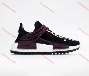 Xshfbcl Human Race wholesale Pharrell Williams casual shoes Creme x NERD Solar Pack Holi sport Men Women Pharell Runner Racer Athletic Sneak