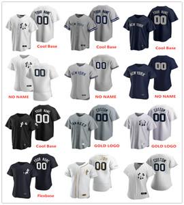 Genähte 33 J.A. Happ 66 Kyle Higashioka 56 Jonathan Halter 48 Kahnle 47 Montgomery 0 Adam Ottavino Jerseys 2020 neue Art-Shirts