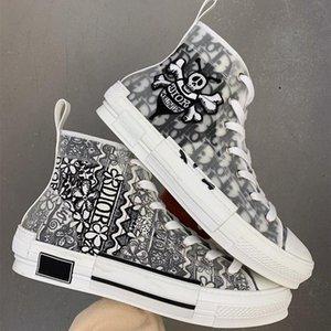 Top Quality Fashion 20SS Daniel Arsham CD Obliques Leisure Mens Platform Triple S Sneakers Men Women Vintage Trainer Casual Shoes