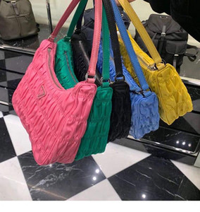 pleated bag fashion cross body bag underarm shoulder purse messenger bag handbag sets canvas dicky purses bags wallets Women designer bags