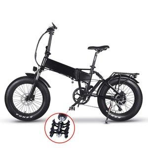 20 Inch 48V 750W BaFang rear hub motor Panasonic-cell 48V 16Ah Electric bicycle 20 folding electric bike with metal fenders
