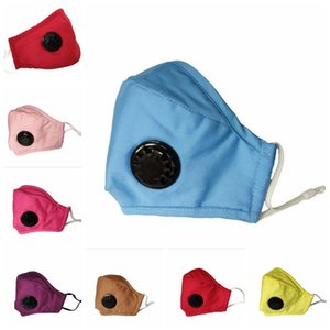 Face Masks Pure Color Proof Valve Cotton Dust Reusable KLSKD273 Mask Proof Mask Face Wind With And Haze Stereoscopic Mas Pri Lvhog