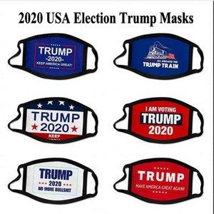 Máscaras de 2020 Elección de la Trump algodón de la cara Mantener Máscaras América del partido de Cosplay Biden de nuevo un gran anti polvo lavable y transpirable Cúbrase la boca
