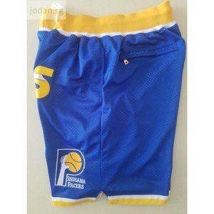 Cheap 674 New Jersey Men's Just Don Pocket Sports Blue Shorts S-xxl Top Stitched Jersey