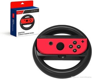a pair Steering Wheel Gamepad Joy-Con Controller Joystick Grip Racing Game Remote for Nintend Switch NS Accessories