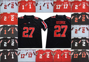 Ohio State Buckeyes Justin Fields 2 Chase jeune Archie Griffin 45 33 Maître Teague III 17 Chris Olave bol fiesta 150e Jersey cousu