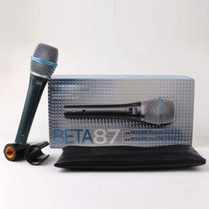 전문 Microfono 베타 87 BETA87 유선 핸드 헬드 보컬 동적 노래방 마이크 베타 87C BETA87A 87A 마이크 마이크 양질