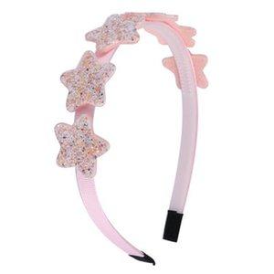 Us Sequin Stars Hairbands Cartoon Glitter Mini Star Ribbon Headbands Little Girls Hair Accessoriesgirls Hair Lot Sequin Stars babyskirt LPpd