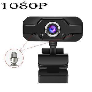 HD Webcam embutida dupla Mics inteligente 1080P Web Camera USB Pro Fluxo Camera for Desktop Laptops PC Game Cam Para SO Windows dh_niceshop osStE