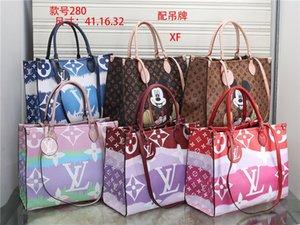 Las mujeres Bolsos de cuero de 2020 estilos Nombre bolso famoso Moda hombro del totalizador bolsas de dama bolsos o bolsas monedero XF280