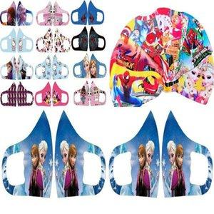 Máscara protectora crianças Máscara tapaboca personagem de banda desenhada Facecover face nariz Proteção Dhl Moda Rosto Boca MMJ2010 sADjs