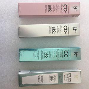 Alta qualidade! CC creme fundação composição cosmética cremes ocultador cara iniciador fundação marca maquillage composição média / luz