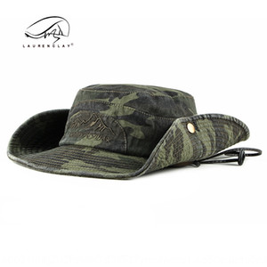 MQEFA Summer and autumn outdoor travel sunscreen camouflage bucket bucket cap fisherman cap men's sunscreen fishing hat fisherman hat Women'