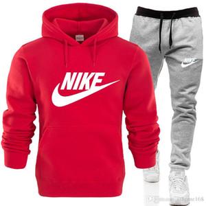 NEW Modedesigner Männer und Frauen Sportswear Marke Sportswear Hochwertige Pullover Paar Jogginganzug Schwarz Rot Blau Verschiedene Farben NO.12S