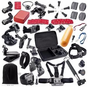 Ação da câmera Acessórios Kits para GoPro Hero 4 SJ4000 SJ5000 SJ6000 SJ7000 SJ9000 Xiaomi Yi Sports Câmeras 789