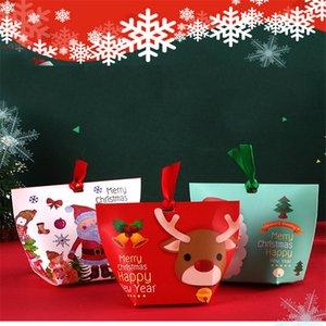 5pcs 7 * 5.5 * 10cm cajas de dulces delicados de alta calidad de impresión de los animales de cartón de almacenamiento boda lindo diseño de la venta populares