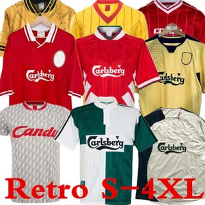 04 05 Retro Soccer Jersey Gerrard 1982 FOWLER DALGLISH 10 11 Football Shirts TORRES 1989 Maillot 06 Kuyt 08 09 SUAREZ 97 95 96 98 McMANAMAN