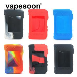 Housse de protection en silicone de couleur de peau de couverture manches pour Geekvape Aegis X Box Mod 200W Cigarette électronique Mod
