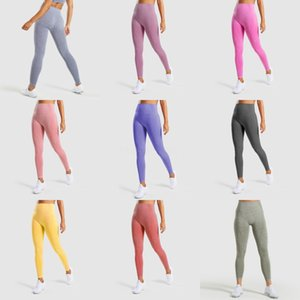 Leggings Yoga Pants Push Up Sport Women Yogaworld Spandex Fitness Tights With Pocket Femme Workout Dropshipping#382