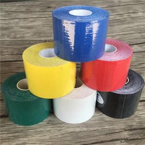 Kinesiologia Tape Athletic nastro Sport recupero Strapping Ginocchiera Relief ginocchiere supporto per Gym BQfu #