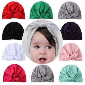 New Milk silk cap baby cap ins Indian hat milk silk children rabbit ear baby hat