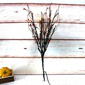 Cadılar Bayramı Dekorasyon Işık Ev Dekorasyon Peri Işıklar Tatil Parti aydınlatma Portakal Pip Berry ile 30 Led Işık Ağacı