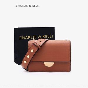 c k women's 2020 new high-end western style square Shoulder small square bag Singapore small ck shoulder messenger bag