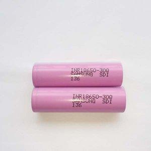 100% Высочайшее качество Samsung 30Q 18650 Батарея - 3000 мАч Высокий сливной разрядные литиевые батареи Fedex Duty Бесплатная доставка