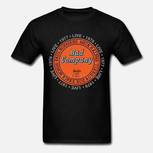 Sf Erkekler Bad Company Live In Concert Tişört Pamuk Kısa Kollu