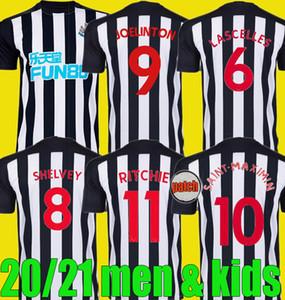 hombres hijos 20 20 JOSELU PEREZ Joelinton fútbol Jersey niño kits caseros nuevos 2020 2021 RITCHIE LONGSTAFF HAYDEN KENEDY camisas del fútbol de los uniformes