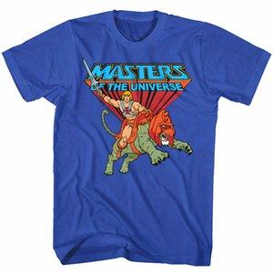 Prodotto ufficiale Masters of T Shirt Men dell'Universo He-Man Equitazione su Battle Cat