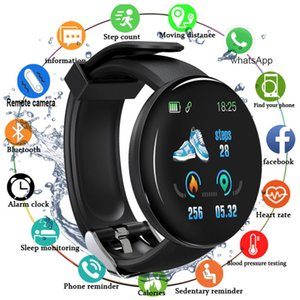 Hot Sale Bluetooth Smart Watch Heart Rate Detection Multifunctional Waterproof Smart Silicone Watch CNE Fast Shipping