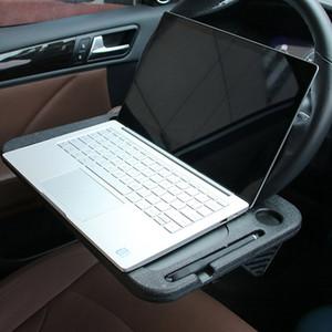 Carro Desk Coffee Titular Computador Portátil Car Laptop Desk Mount Levante Volante Eat Drink Trabalho Titular Mercadorias Tabuleiros de mesa