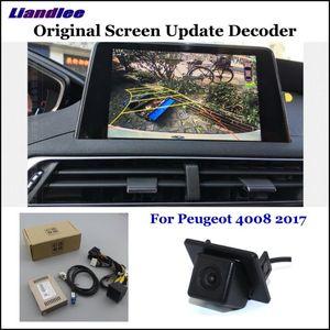 Caméra de recul HD 4008 5008 2020 2020 arrière de voiture de sauvegarde caméra de recul Module d'interface décodeur