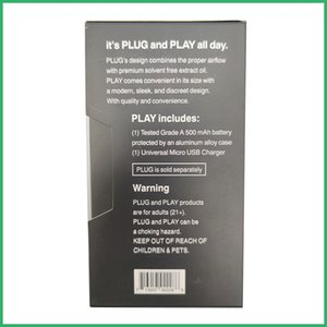 Новые ДНК Plug & Play Pod Батарея 500mAh E Cigarette Vape Pen Батарея для пустых мини Бобы