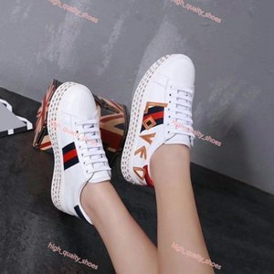 Xshfbcl 2020 High quality designer casual shoes fashion versatile design embroidery women's shoes lusso trend flat casual shoes