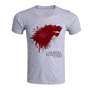 Free shipping Oversized S-XXXL T Shirts Men Games of Thrones 100% Cotton Man Male Summer T-shirt Print Casual Homme Clothing Hot