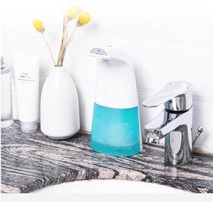 Automático dispensador de jabón más nuevo de inducción inteligente recargable de infrarrojos dispensador de jabón Thouchless desinfectante de la mano del dispensador líquido DHA496