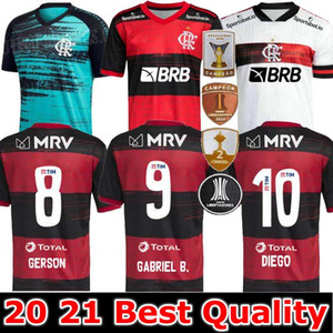 20 21 Jersey Flamengo 2020 2021Flish Diego de Arrascaeta Ribeiro Soccer Jerseys Gabriel B. Henrique Sports Football Libertadores