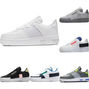 2020 AF1 Reagire ghiaccio seta traspirante Skateboard scarpe originali AF1 tipo antiscivolo in gomma incorporato Zoom Air Athletic Shoe