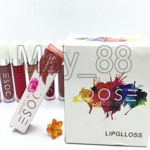Renklerin Sıcak Marka 12pcs Yeni Makyaj Doz Sıvı Mat Ruj Su geçirmez Dudak 15 renk Ücretsiz Kargo