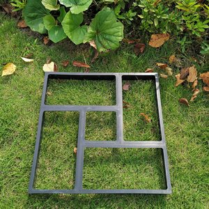 Set Of 3 Garden Walk Maker Walkway Paving Moulds