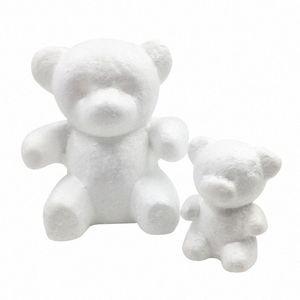 15 * 10cm Modeling Polistirene polistirolo Foam Orso mano modello Materiale della decorazione di DIY parte sopporti di Natale fornisce i regali P6gm #