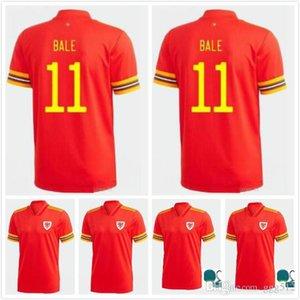 Thai 2020 Wales soccer jersey MAN +KIDS KIT 20 21 home red BALE ALLEN James Ben Davies Wilson camisetas national team maillot football shirt