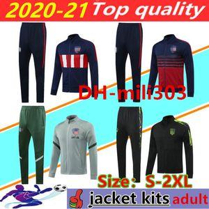 2020 2021 JOÃO FÉLIX lunga cerniera rivestimento di calcio tuta 20/21 Survêtement JOAO FELIX KOKE SAUL chandal giacca calcio tuta