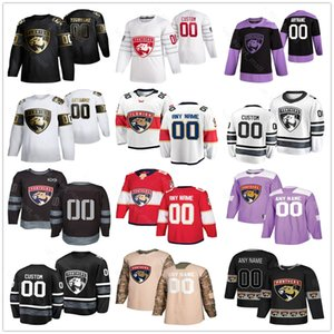 Florida Panthers Maillots Hommes Femmes Enfant Jamie McGinn Brady Keeper Troy Brouwer Keith Yandle Vincent Trocheck Hoffman Hockey Maillots personnalisé