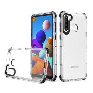phone case For LG Harmony 4 Aristo 5 Plus Stylo 6 K51 K31 TPU PC Transparent Back 4 Corners Protection Anti Fall Phone Case Cover